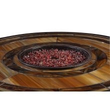 Basics Firepit Glass Bean