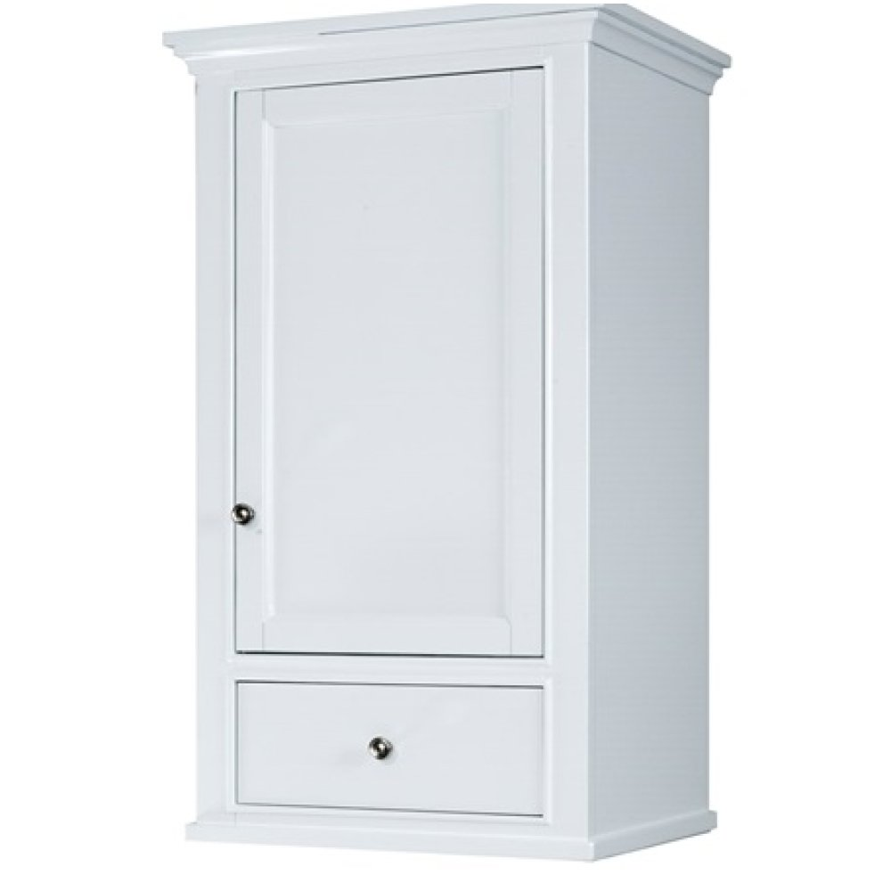 "Framingham 21x18"" Linen Hutch - Polar White"
