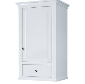 "Framingham 21x18"" Linen Hutch - Polar White Product Image"