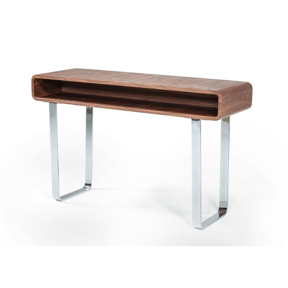 Modrest Avis Modern Walnut Console Table