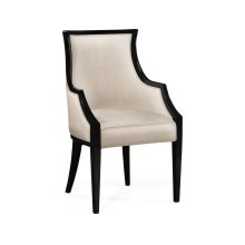 Dining armchair, upholstered in MAZO