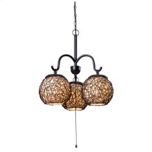 Castillo - 3 Light Outdoor Chandelier