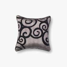 P0010 Grey / Black Pillow