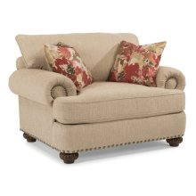 Patterson Fabric Chair with Nailhead Trim