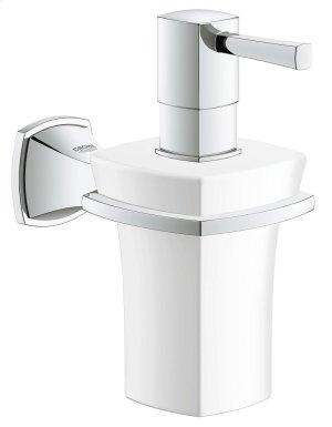Grandera Holder with Ceramic Soap Dispenser Product Image