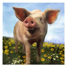"""PIG OUT"" WALL ART"