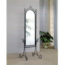 "MIRROR STAND,BROWN/F 22-1/4""Wx20""Dx68""H"