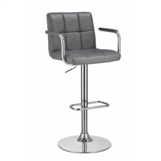 Inspire Adjustable Bar Stool Black