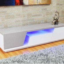 """New TV Stand With LED Light High Quality White & Grey TV Stand Design, High Glossy Finish. Call for Availability Add To Wishlist Product Added! Browse Wishlist the Product Is Already In the Wishlist! Browse Wishlist Compare Sku: Tv-912 LED Categories: Entertainment , TV Stands Tags: LED , Light , Stand , TV #wpp-buttons Img { Padding-right: 5px; Display: Inline; } #wpp-buttons A { Text-decoration: None; Border-bottom: None; } /* Woocommerce Pdf & Print 1.5.0 */ Share This Product Description Additional Information Description Blue LED Light. Lacquer and Acrylic. Additional Information Meas 71""""x18""""x17"""" Material White and Grey TV Stand. Packing Info Boxes: 1 Box Meas: 73*20*19 Weight Lb: 128 Ft3: 16.95 Related Products Add To Wishlist Product Added! Browse Wishlist the Product Is Already In the Wishlist! Browse Wishlist Compare Quick View Tv-2199 White Tv-2199 White Tv-2199 White Tv-2199 White White Design"""