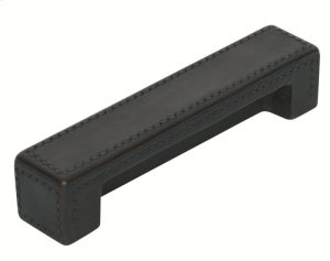 Leather Amalfine, Magnetic Door Stop, Round with a Alupewt grip Product Image