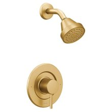 Align brushed gold posi-temp® shower only