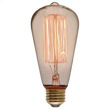 St64 110-130v 40w Light Bulb  Clear