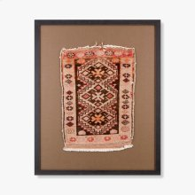 0300980014 Vintage Rug Fragment Wall Art
