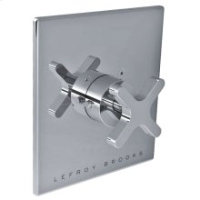 Single cross handle thermostatic trim only, to suit K1-4200 rough