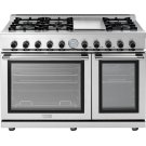 """Range NEXT 48"""" Panorama Stainless steel 6 gas, griddle and 2 gas ovens Product Image"""