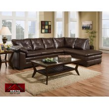 Durham Black Sectional