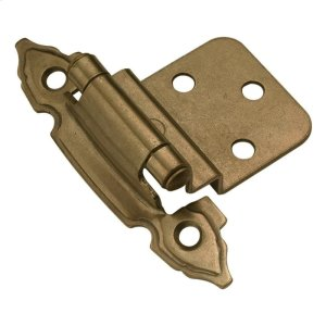 Self-Closing 3/8 In. Offset Cabinet Hinge (2-Pack) Product Image