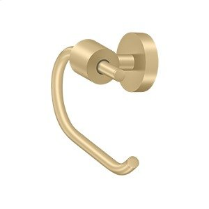 Toilet Paper Holder Single Post BBS Series - Brushed Brass Product Image