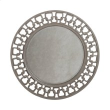 Osbourne Mirror in Muted Silver Leaf