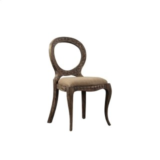 Aged Pendant Side Chair