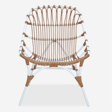 St. John Outdoor Chair - White/Brown