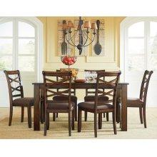 Standard Furniture 11220 Redondo Rectangular Dining Table Aztec Houston Texas