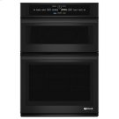 """Black Floating Glass 30"""" Microwave/Wall Oven with V2 Vertical Dual-Fan Convection System Product Image"""
