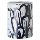 Alair Multicolor Garden Stool - Multi Product Image