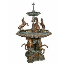 Seven horse fountain
