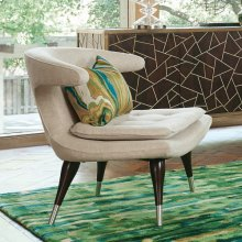 Anvil Lounge Chair-Windsor Woven