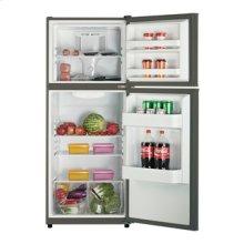 Model FF994PS - 10.1 Cu. Ft. Frost Free Refrigerator - Black w/Platinum Finish Doors