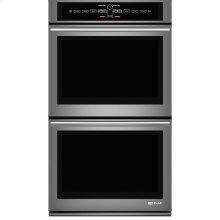 """Jenn-Air® 30"""" Double Wall Oven with V2™ Vertical Dual-Fan Convection System, Euro-Style Stainless Handle"""