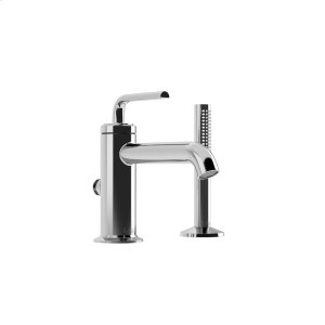 Deckmount Tub Faucet With Hand Shower - Chrome Product Image