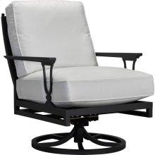 Winterthur Estate Swivel Rocker Lounge Chair - X Back