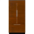 """Integrated Built-In French Door Refrigerator, 42"""", Custom Overlay Product Image"""