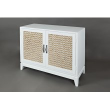 Seychelles Accent Chest- Gold and Cream