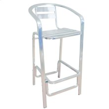 Aluminun Bar Stool Tube 38x16x2.0