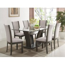 Camelia Dining Table Leg Grey