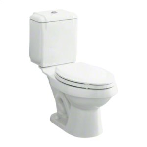 """Rockton™ Luxury Height® 12"""" Rough-in Toilet with Dual Force® Flushing Technology - White Product Image"""