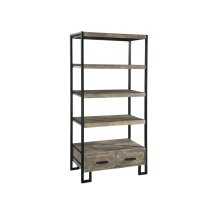 office@home Santa Cruz Open Bookcase with Drawer