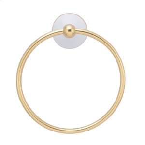 Anja Towel Ring - Antique Brass Product Image