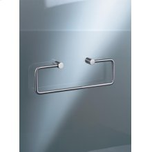 Towel holder without back plate - Mocca