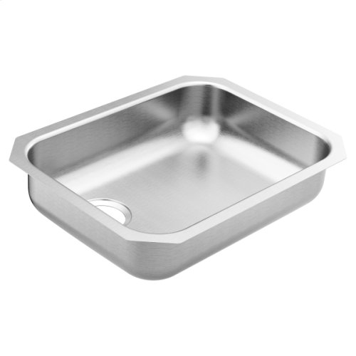 1800 Series 23.5 x 18.25 stainless steel 18 gauge single bowl sink