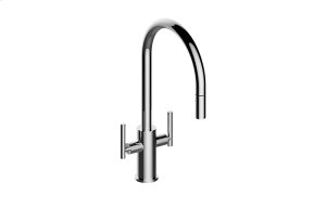 Sospiro Contemporary Two-Handle Single-Hole Kitchen Faucet Product Image