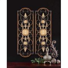Micayla Metal Wall Panels, S/2