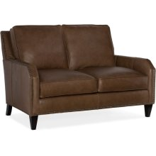 Bradington Young Caroline Stationary Loveseat 8-Way Tie 510-75