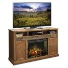 "Oak Creek 62"" Fireplace Console Product Image"