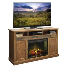 "Oak Creek 62"" Fireplace Console"