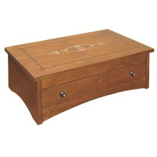 Oak Harvey Ellis Jewelry Box