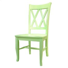 Double X Back Side Chair C20